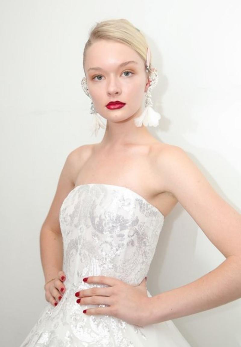 tendances robes de mariées 2018 - Robe modele 5