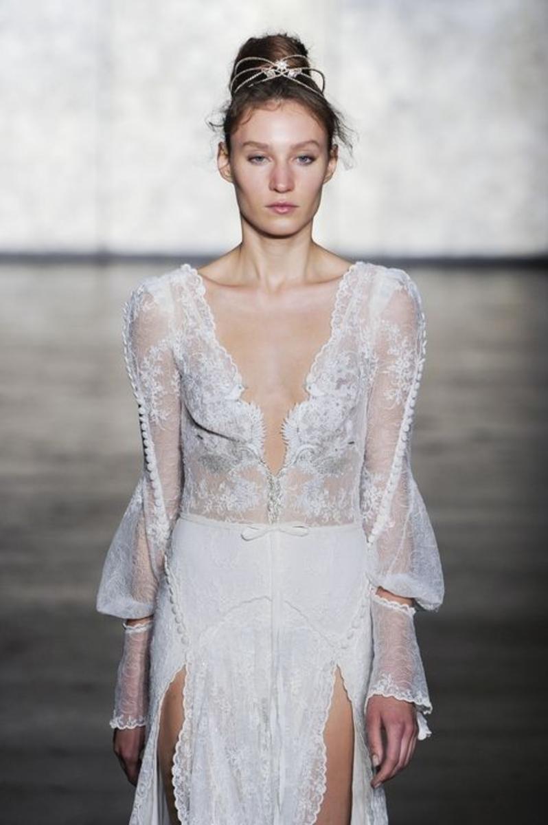 tendances robes de mariées 2018 - Robe modele 7