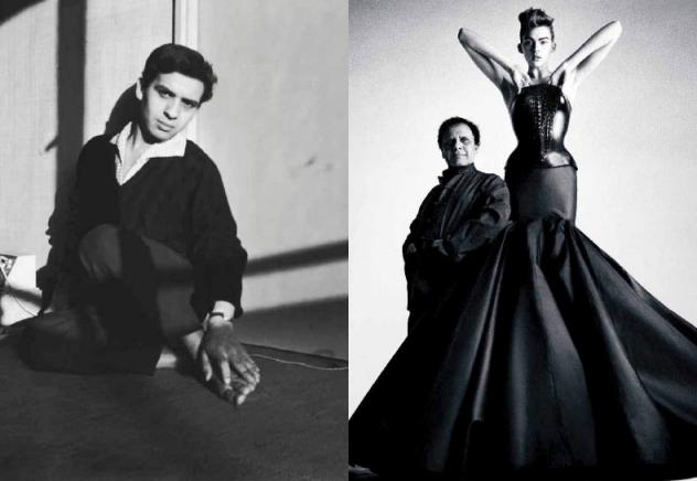 1980 marque l'année de la création de la maison Azzedine Alaïa. Âgé de quarante ans, le couturier continue à explorer la construction du vêtement et à travailler des matières toujours plus innovantes.