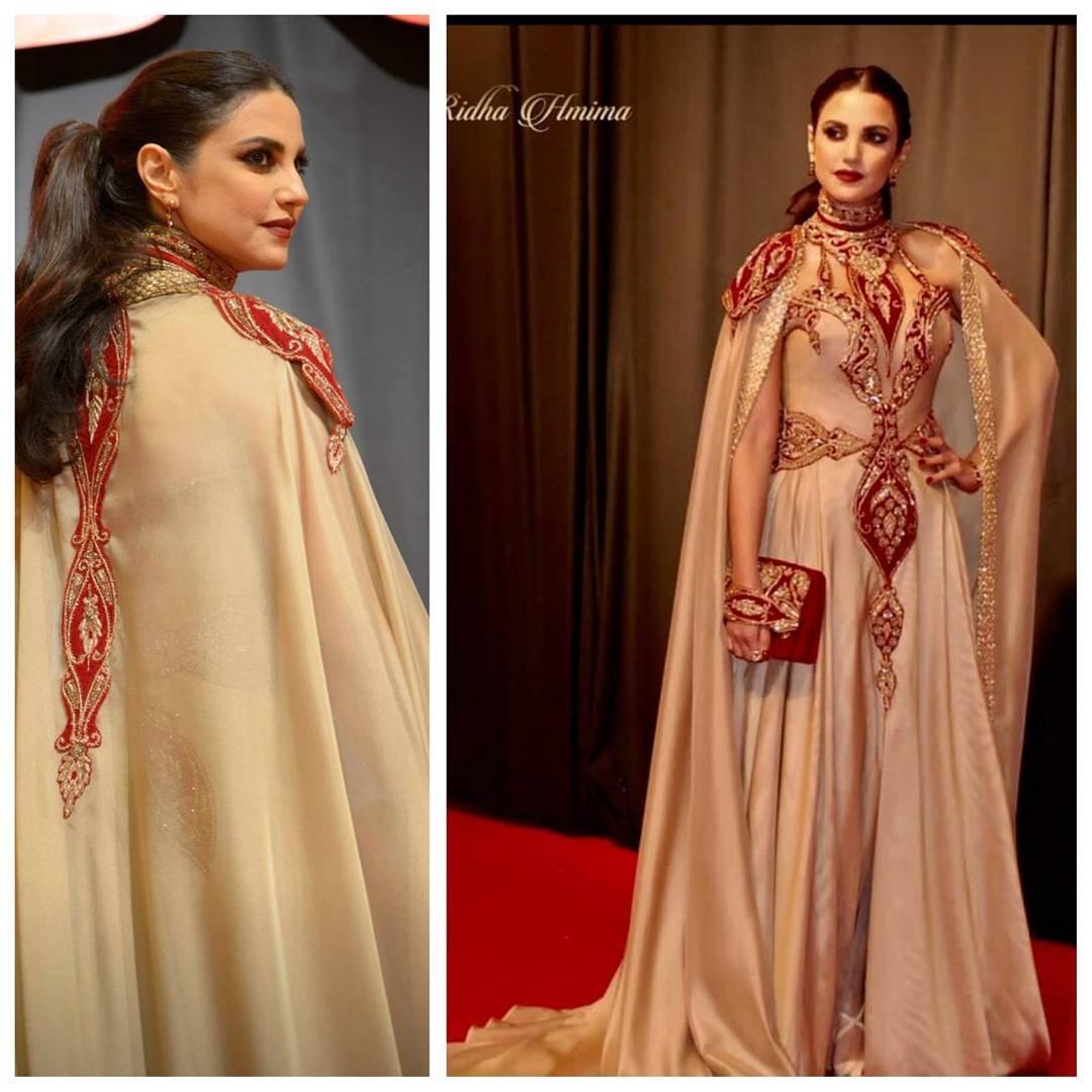 L'actrice et Top Dorra Zarrouk, a irradié le tapis rouge de sa beauté et de son naturel, nous prouvant qu'un sourire canon vaut mieux que n'importe quelle robe.