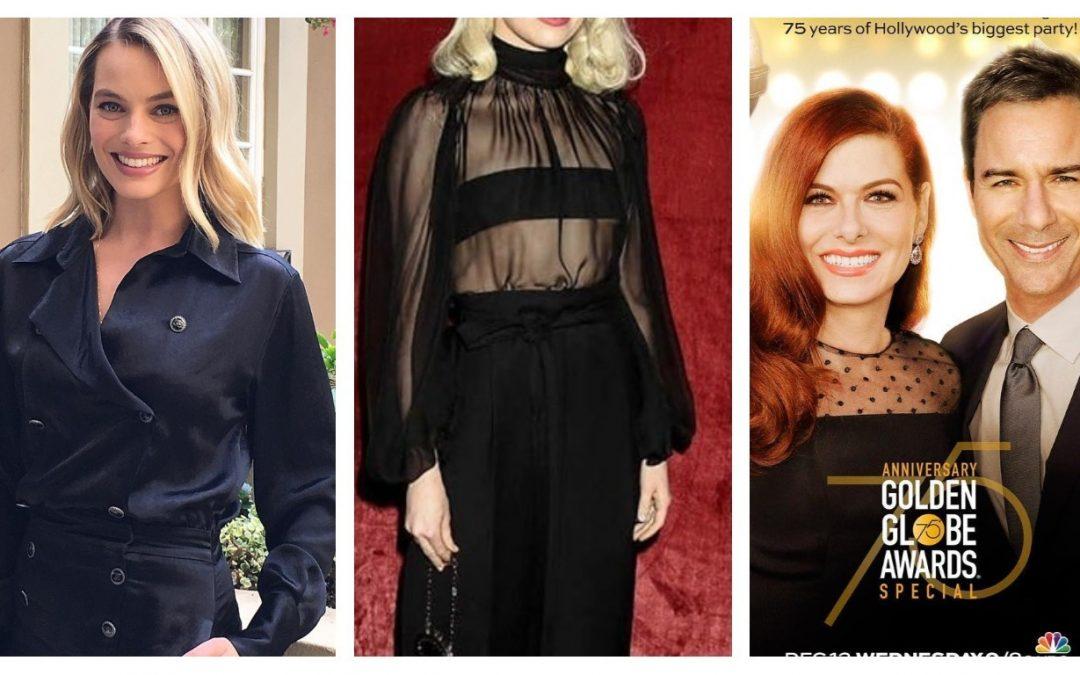 Pourquoi les stars des Golden Globes vont-elles toutes porter du noir ?