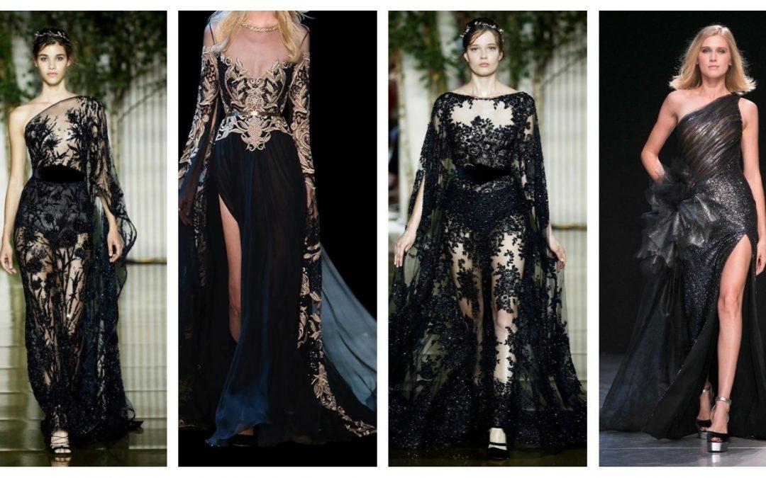 Tendance Mode : La robe noire chic en 21 modèles ultra tendance