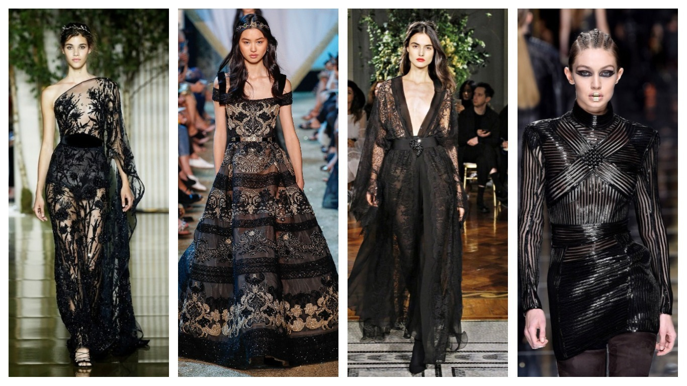 la robe noire chic en 21 modèles ultra tendance