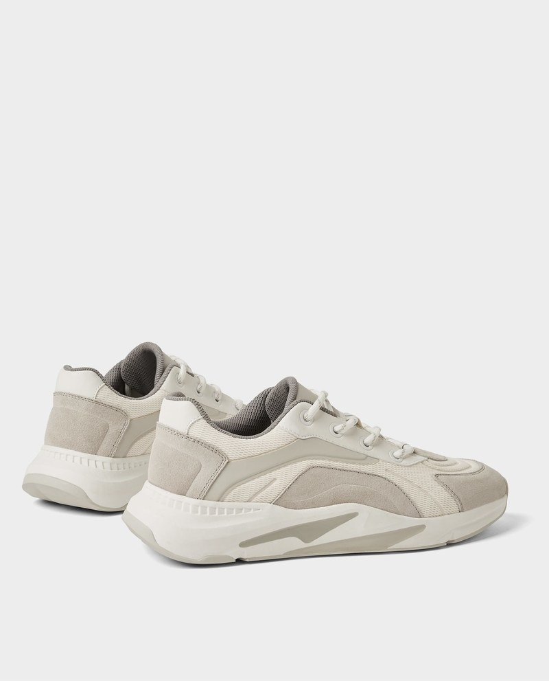 baskets zara collection 2018 : Sneakers With Thick Soles