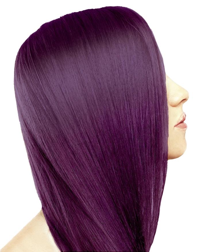Couleur flashy cheveux