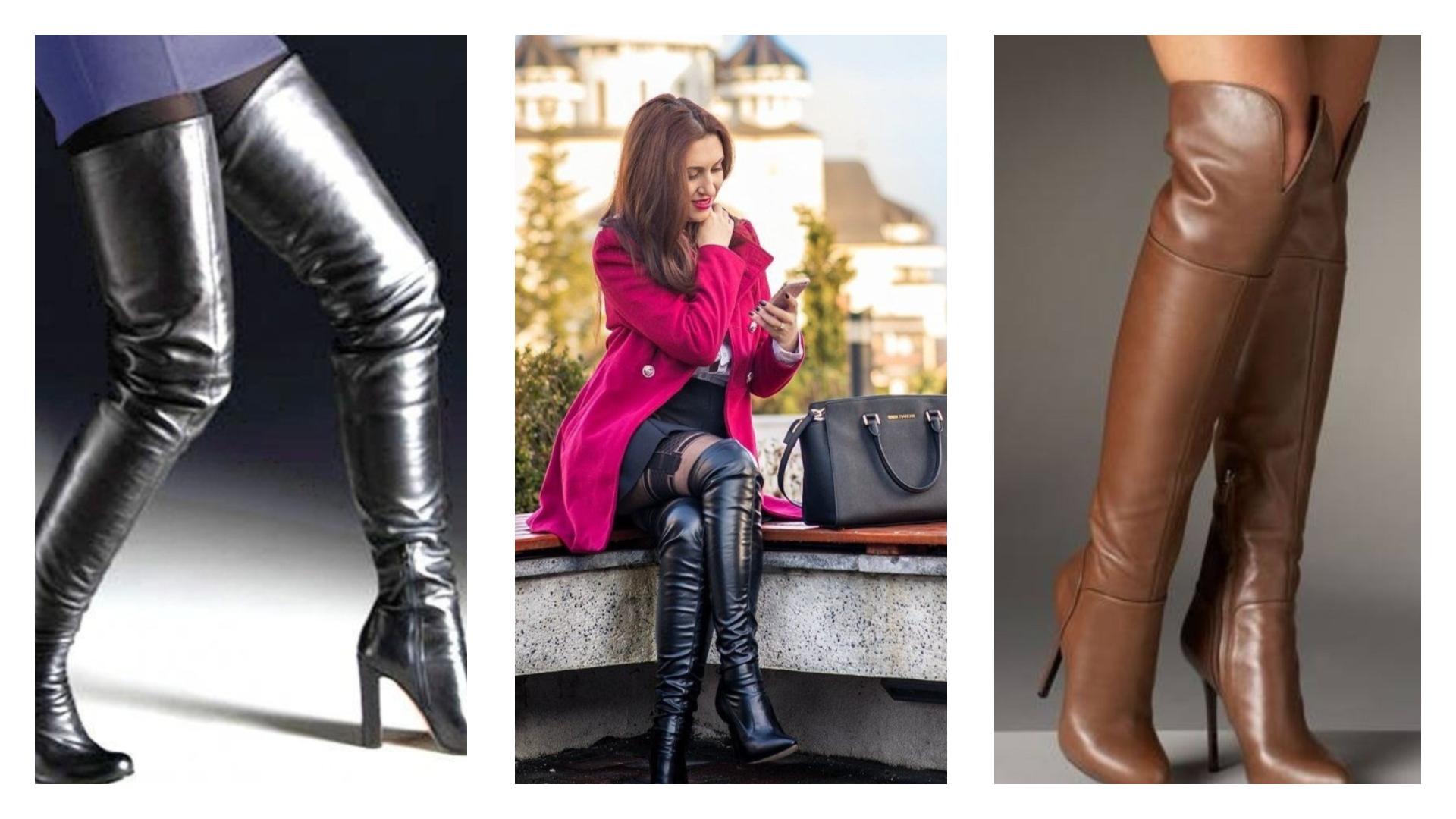 les bottes pour femme tendance printemps-été 2018