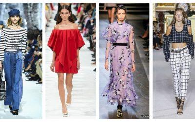 Avant-première : Les 9 tendances mode du printemps-été 2018