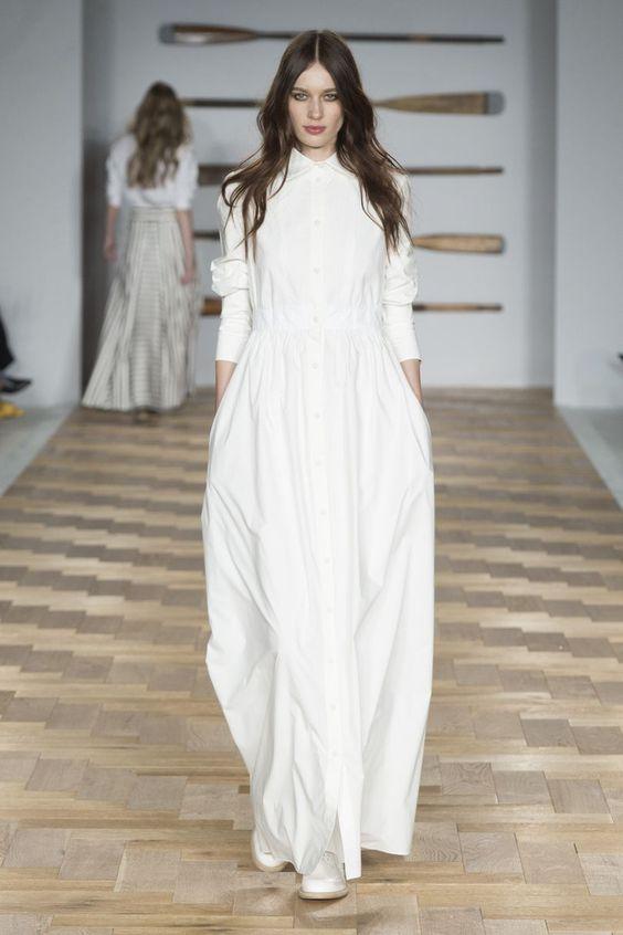 Daks - Robe blanche tendance mode printemps-été 2018