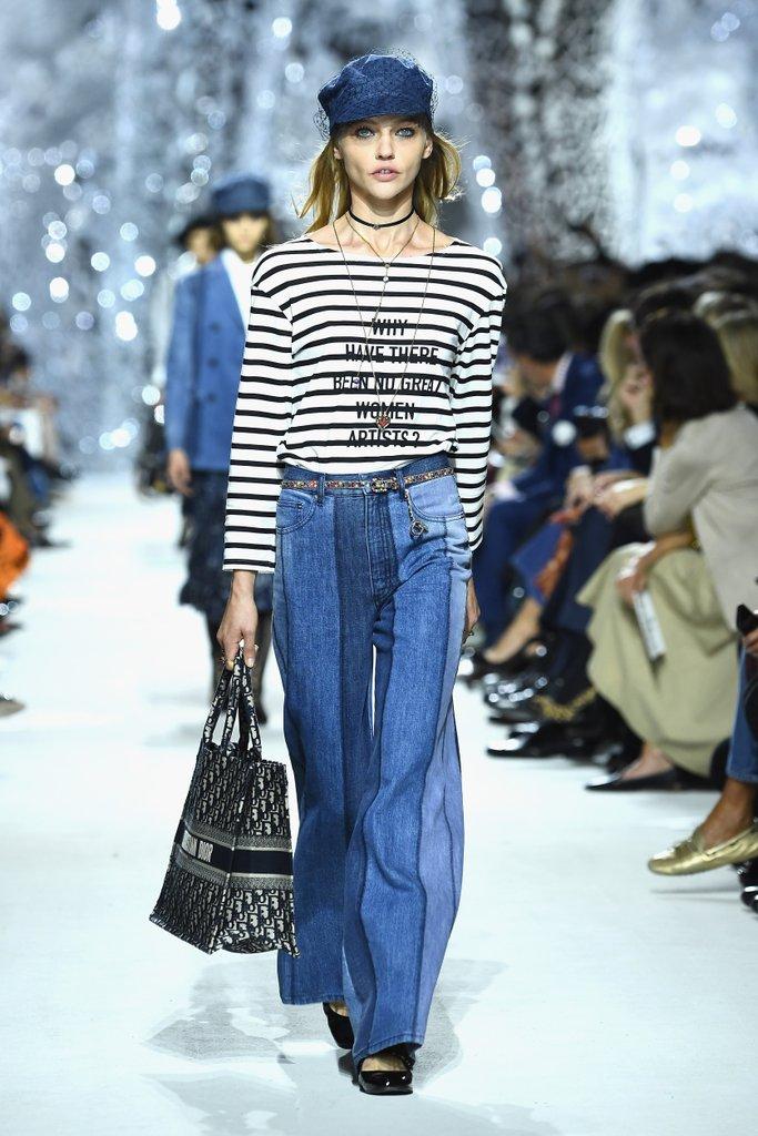 Dior - Denim tendance mode printemps-été 2018