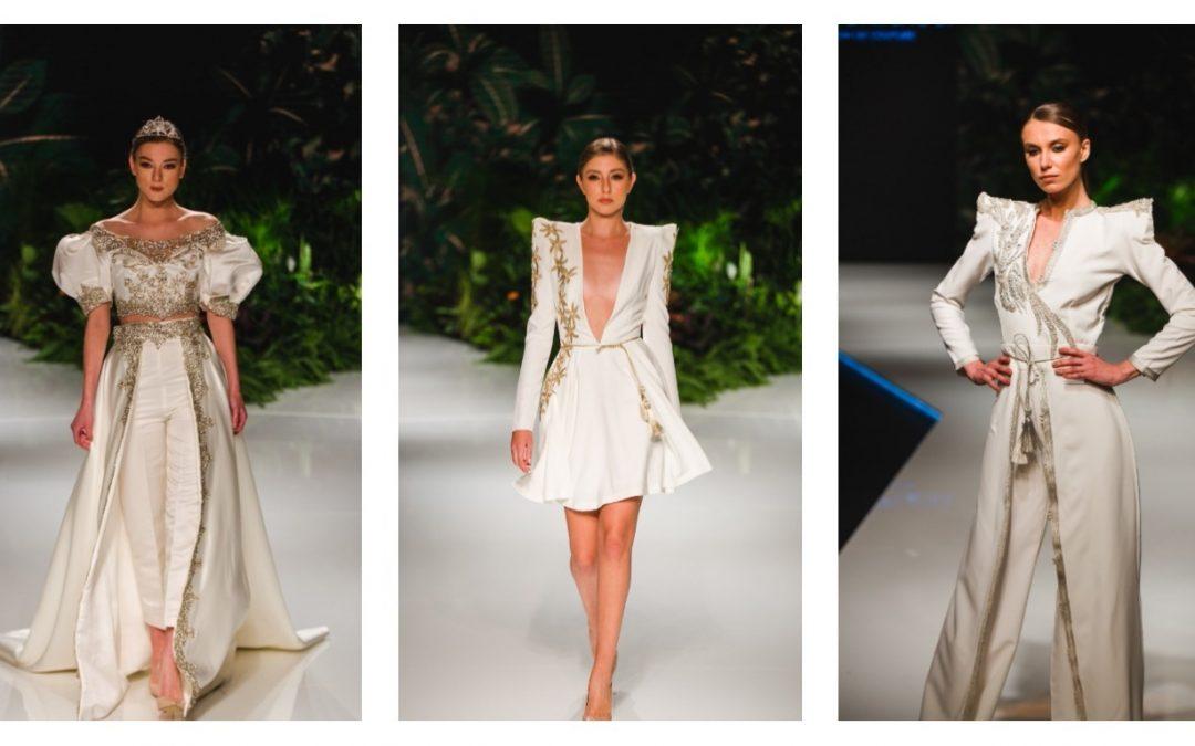 Haute Couture : L'élégance du blanc chez la Tunisienne Yosra Dhiflaoui en images