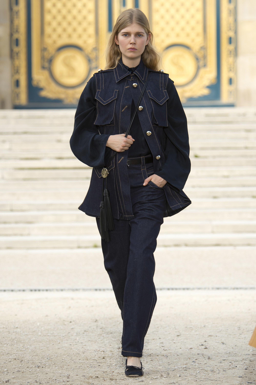 Nina Ricci - Denim tendance mode printemps-été 2018