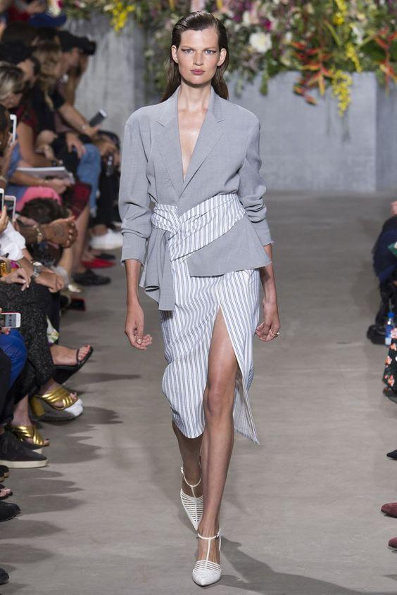 Jason Wu- Gris tendance mode printemps-été 2018
