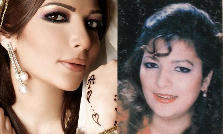Assala Nasri Avant/Apres Chirurgie esthétique