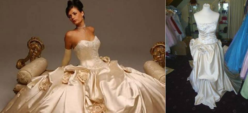 La robe de princesse qui n'en était pas une