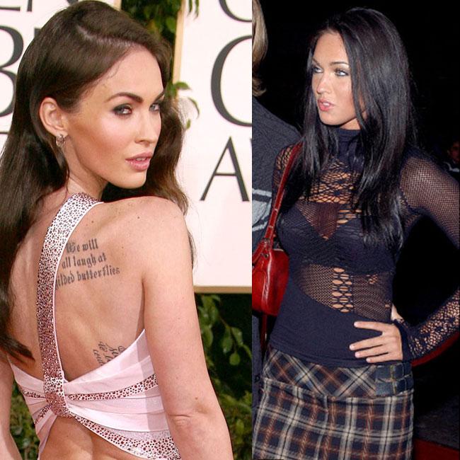Lèvres, pommettes, menton... Megan Fox n'a pas hésité à avoir recours à la chirurgie esthétique pour se sculpter un physique de rêve. Résultat : elle a été élue femme la plus sexy du monde par le magazine FHM.