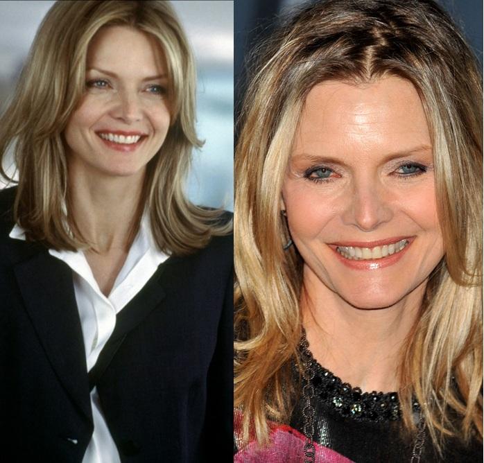 Michelle Pfeiffer est l'une des plus belles femmes de la planète. Elle a eu recours à la chirurgie esthétique pour empêcher l'apparition de trop de rides. Il y a eu pire !