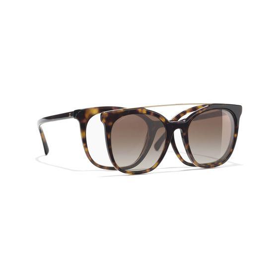 Les lunettes solaires à clips tendance 2018