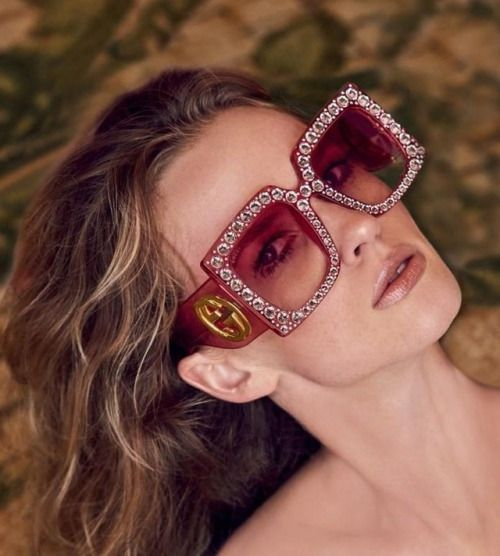 lunettes de soleil carrées pour femme