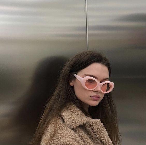 lunettes de soleil papillon vintage