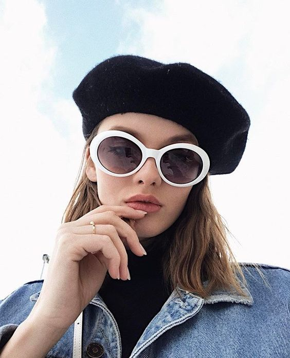 lunettes de soleil style retro pour la rentrée