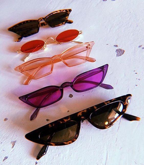 Petites lunettes vintage