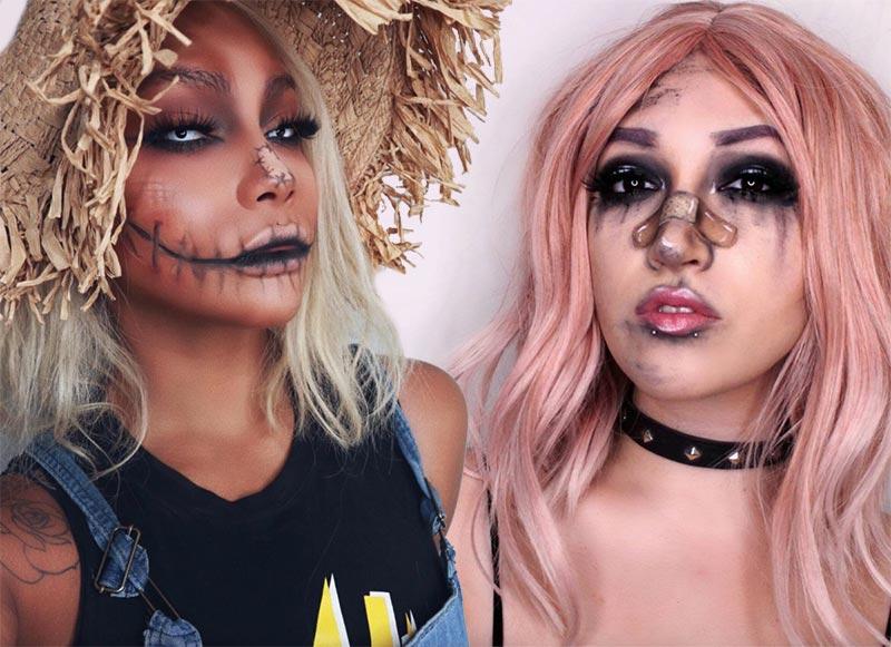 Idées de maquillage halloween pour femmes