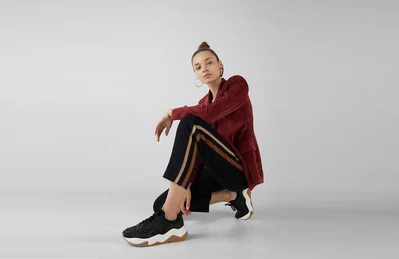 La nouvelle collection chaussures Bershka 2019