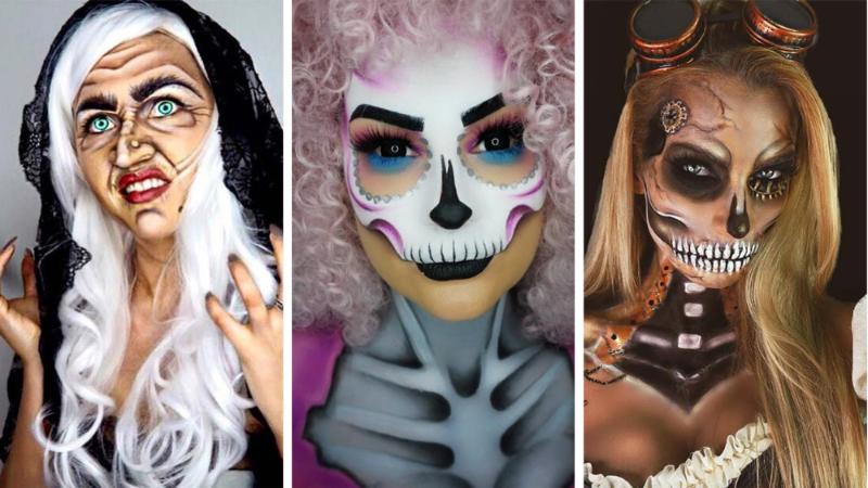 Tuto et idées de maquillage halloween pour femmes en images