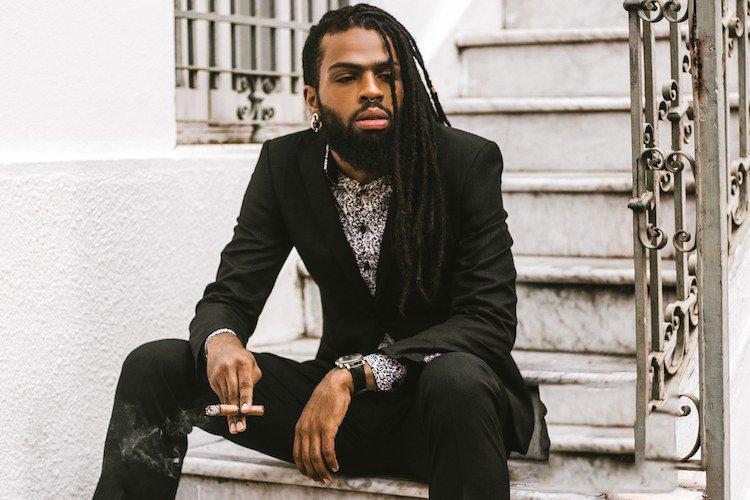 coiffure homme cheveux afro dreadlocks