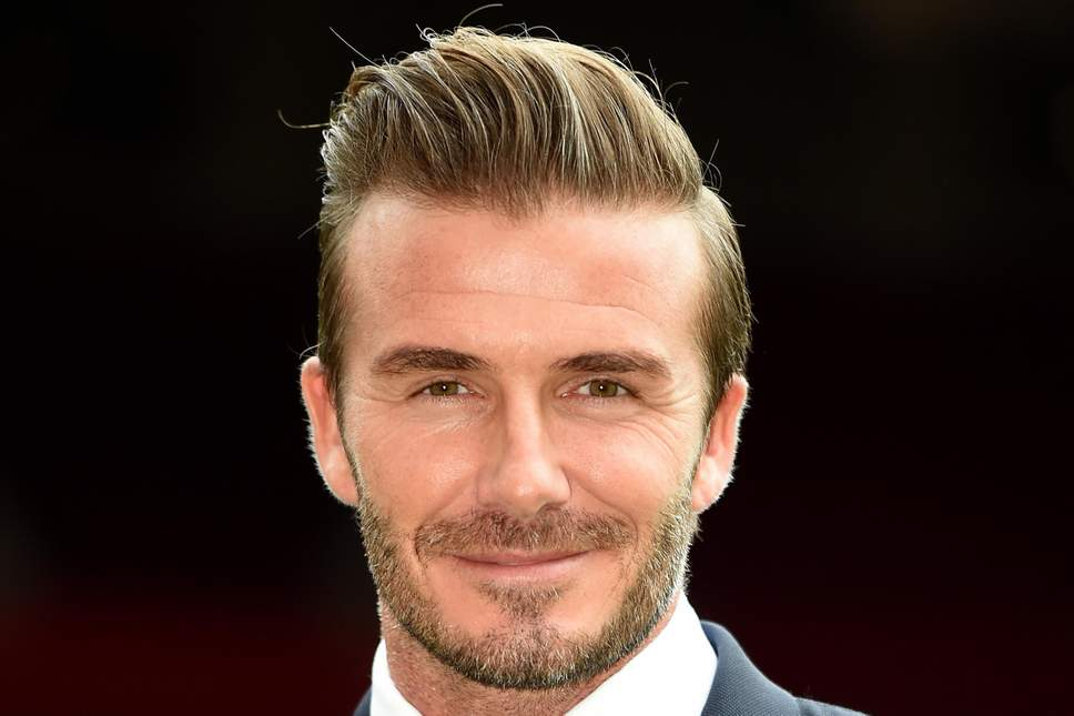 Les mèches bleach emblématiques de David Beckham