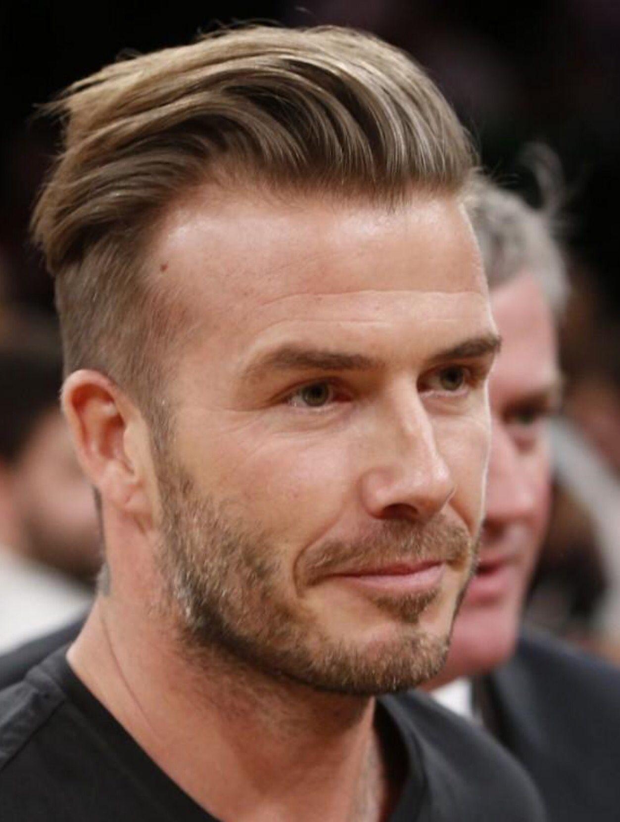 Coiffure David Beckham : le Comb over franchement branché