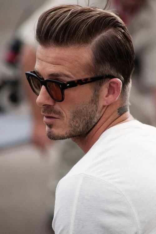 Le Pompadour revisité vu à travers le regard de Beckham