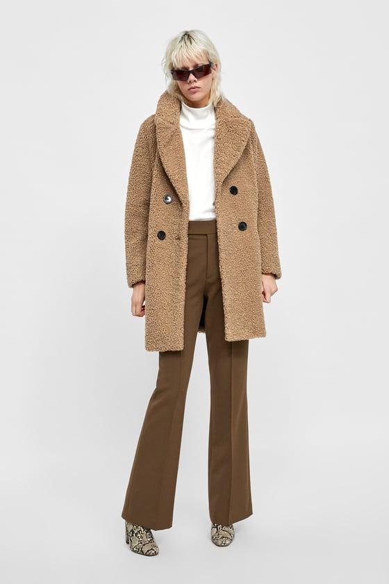 mode designer 78006 7aeb9 Tendance mode : Manteaux pour femme Zara a shopper pour la ...