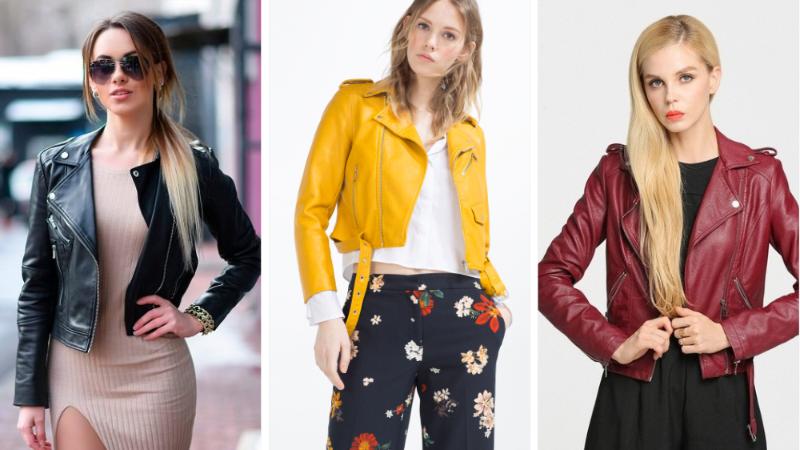 prix compétitif 275fa fe1aa Tendance Mode : Les 27 meilleures vestes en cuir tendance 2019