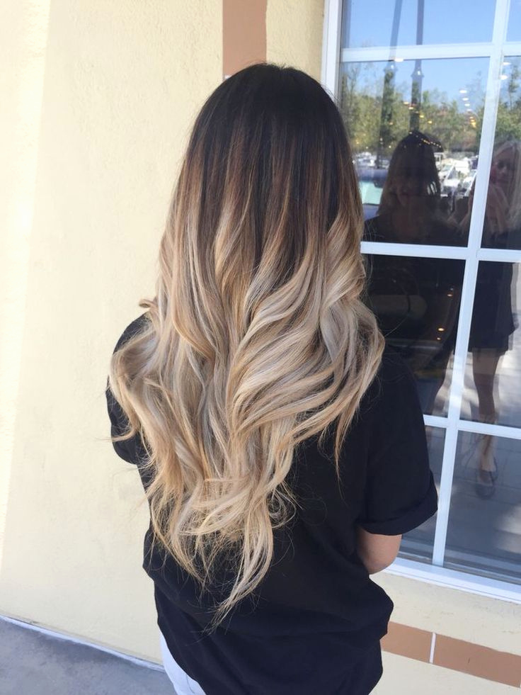 ombré hair blond : les 27 tendances coloration ombré blond de la saison