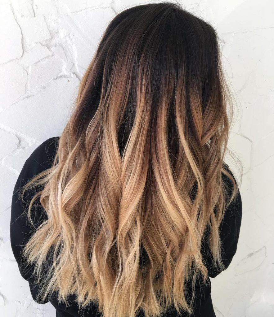 Ombré Hair Blond Les 27 Tendances Coloration Ombré Blond De La Saison