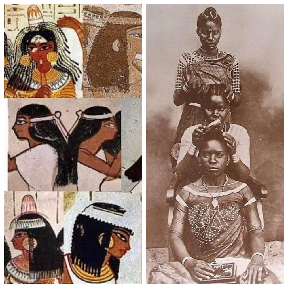 La Tresse africaine pour femme dans l'histoire