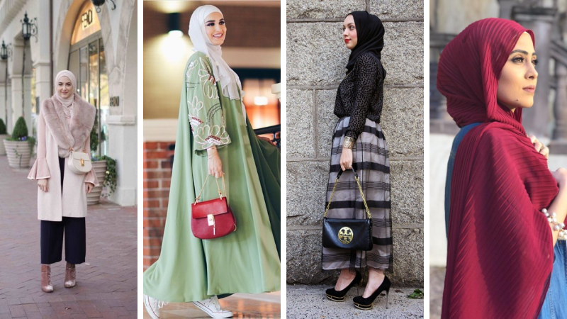 d6d0954aec1 Hijab Fashion 2019 Selection Des Looks Tendances Special Voilees. Y Project Collection  Femme Printemps Ete ...