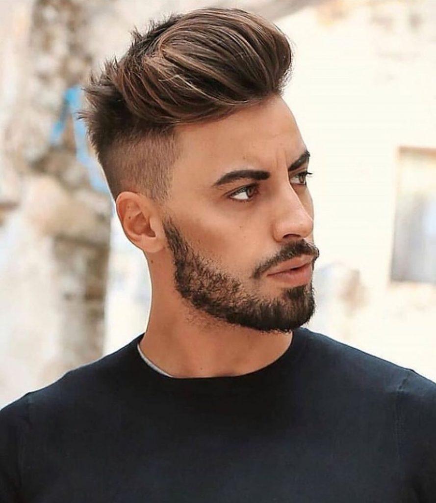 Coupe Courte : 27 Meilleures coiffures dégradées américaines pour homme tendance 2019