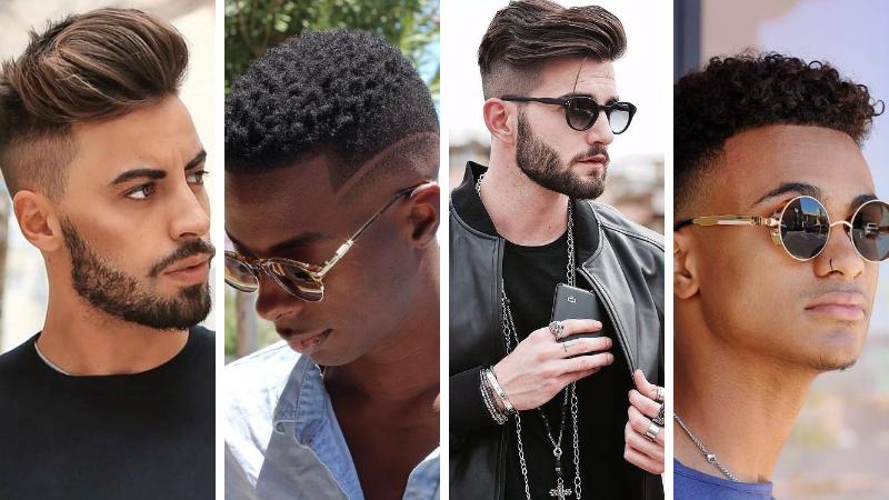 Coupe courte pour hommes Г la mode en 2019