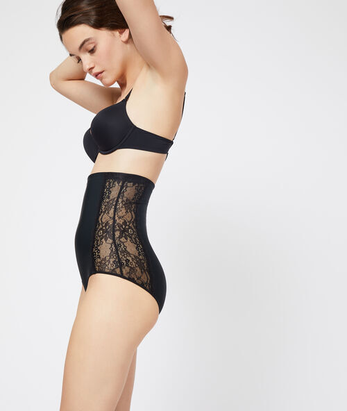 Etam Lingerie - Culotte taille haute - Niveau 2 : silhouette sculptée