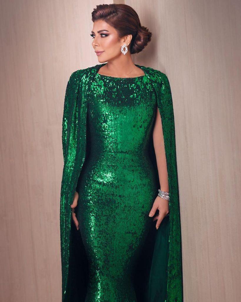 Robe Libanaise tendance 2020 - Robe longue verte par nicolas jebran