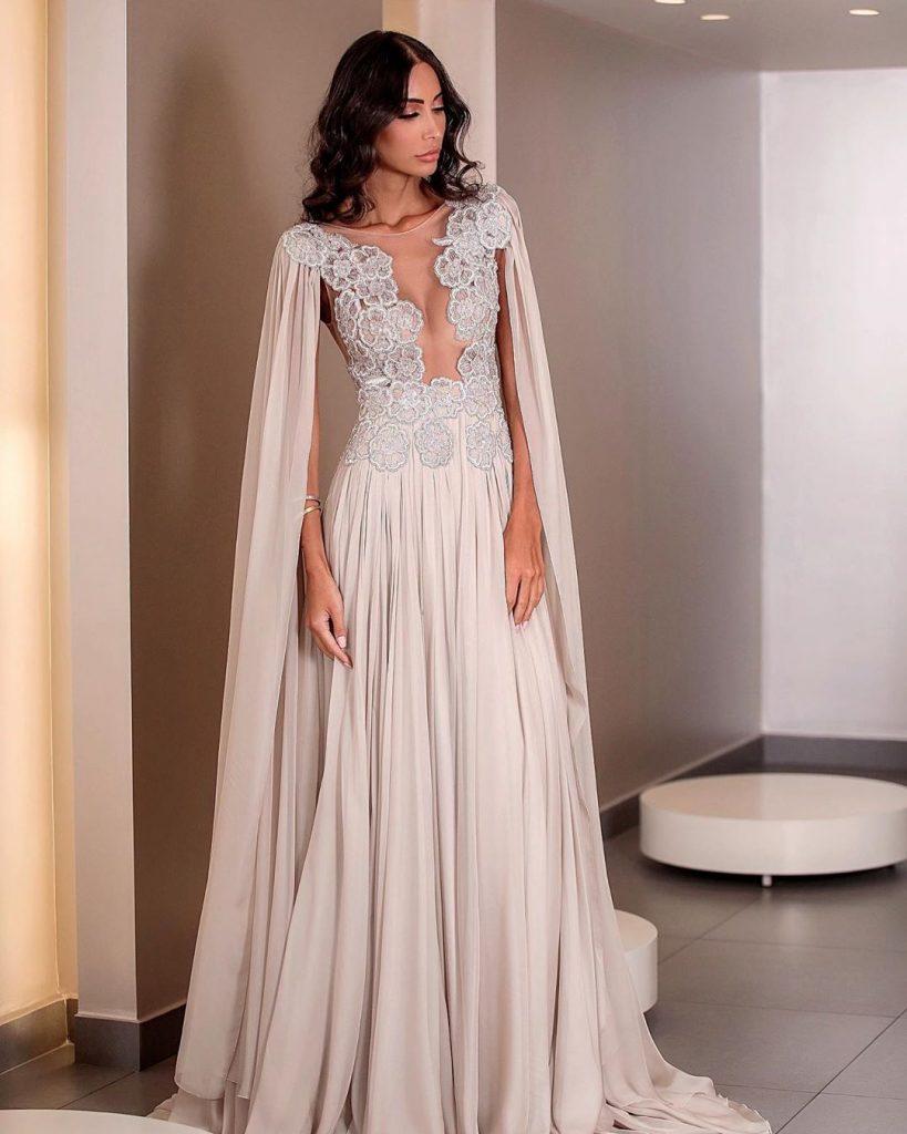 Robe de soirée Libanaise tendance 2020 - MOE SHOUR