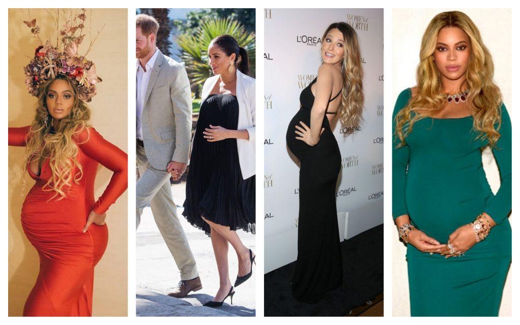 Tendances maternité de Meghan Markle, Beyonce et Blake Lively