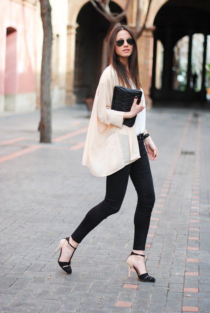 Modele Kimono pour femme disponible chez Zara