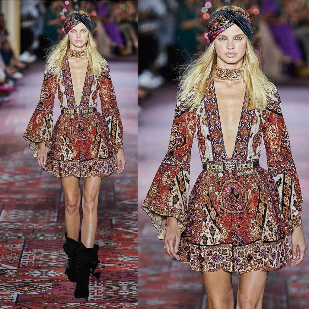 robe de soirée libanaise  : Robe courte Zuhair Murad tendance 2020