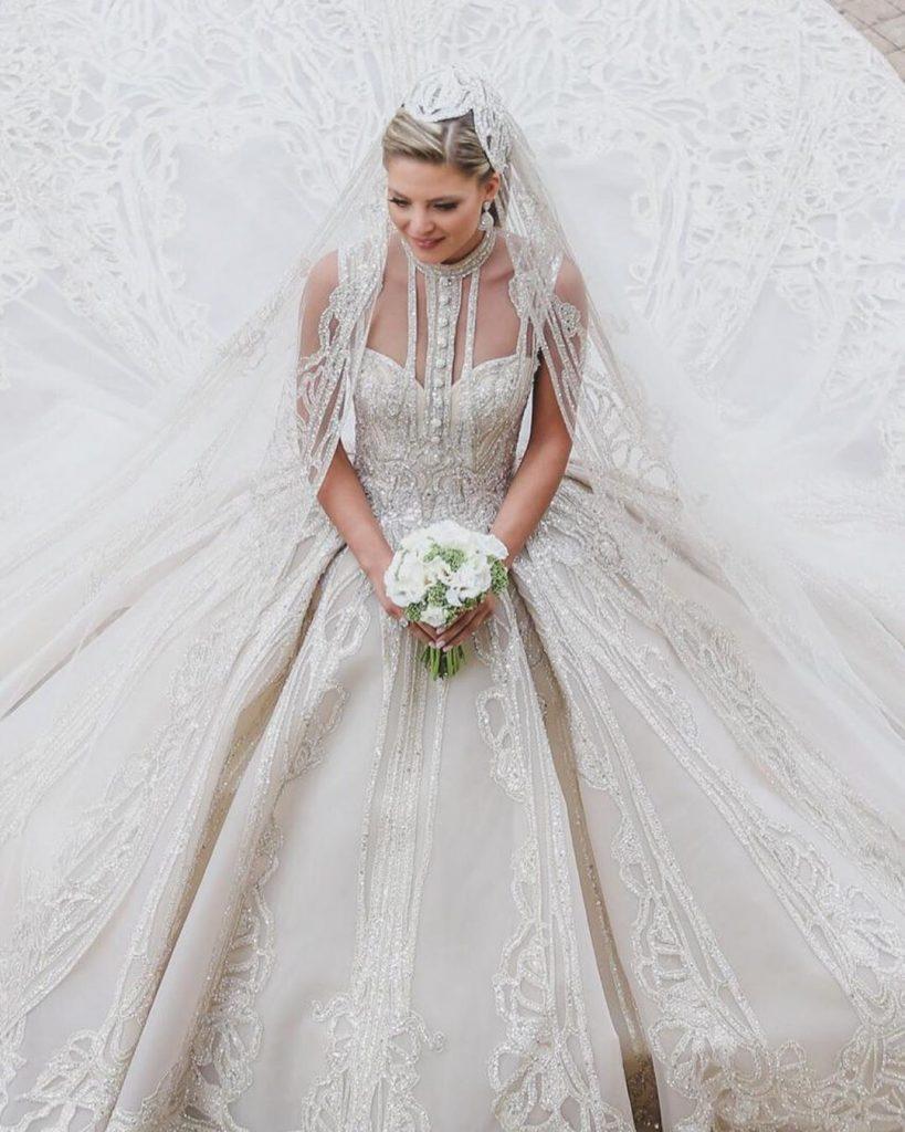 robe de mariée libanaise  : robe de mariée elie saab collection 2020
