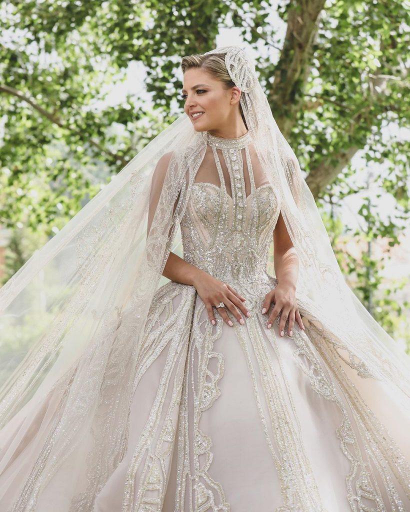 robe mariée libanaise 2020 par Elie Saab