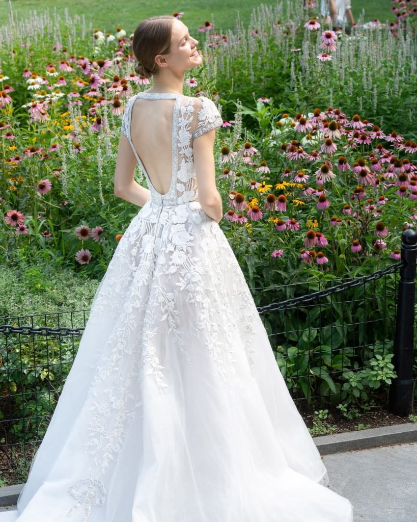 robe mariée libanaise : robe de mariée reem acra collection 2020
