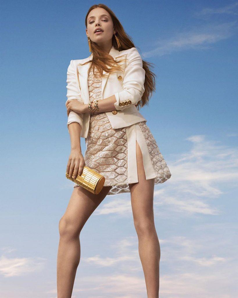 robes libanaises haute couture : robe elie saab courte modele 2020